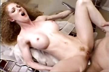 Hairy redhead Annie body