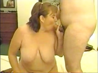 Dawn the redhead milf in another gangbang