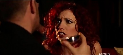 Redhead banged doggystyle in Twiligh Suckers horror porn parody