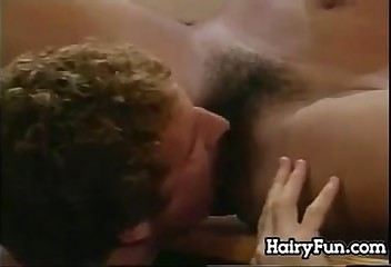 Licking And Fucking For This Hairy Chick