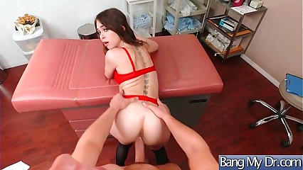 Hot Sexy Patient (Riley Reid) Get Horny And Bang Hard Style With Doctor mov-23