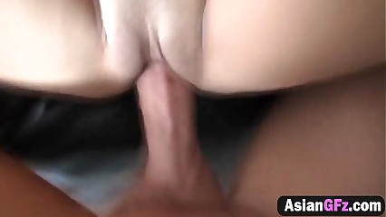 Tiny Asian Pussy Gets Invaded By Long And Hard Cock