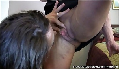EroticMuscleVideos Ashlee Chambers and BrandiMae Fuck Hard