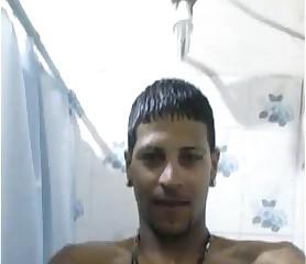 hetero pauzudo no banho