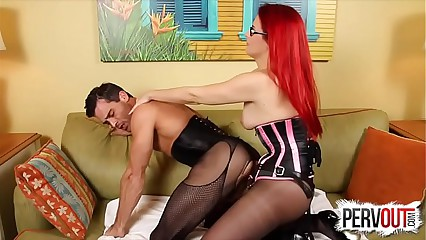 Slut For Chrissy Daniels w Lance Hart STRAPON PEGGING SISSY