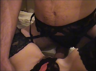 Real Homemade Fucked in Lingerie 2