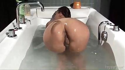 soaks her Meaty Puss...420