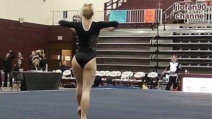 Morrita gimnasta super buena 2