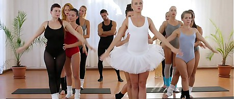 Fitness Rooms Petite ballet teachers secret threesome