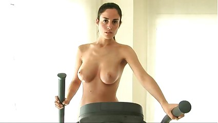 Muriel Nude Workout