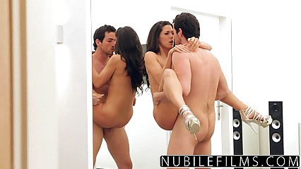 NubileFilms - Handy Man Makes Hot Housewife Squirt