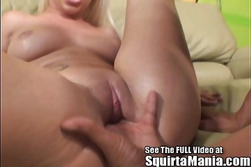 Stevie Shae Loves To Make Her Tight Little Pussy Squirt