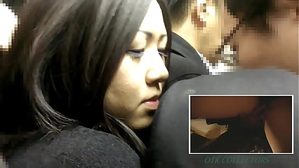 After story Real groper in Japanease train