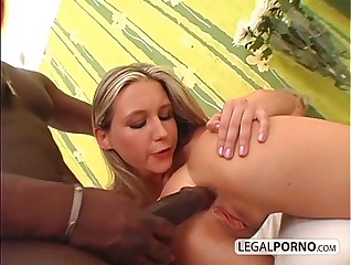 Big black cock fucking two horny chicks in a threesome GB-16-04