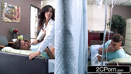 Big Tit Latina Nurse Isis Love Helps Her Patients