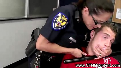 Cock hungry female cops