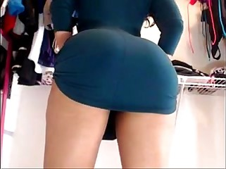 Bet upskirt ever ! Ebony mix latina showing off on cam
