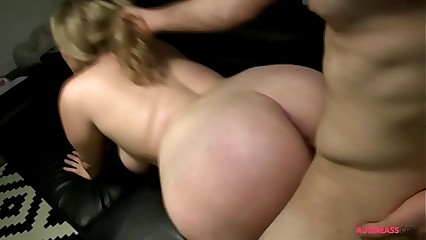 Amity Adams sucks and fucks Jayce Hardy's huge cock and swallows his cum