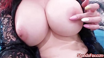 Shanda Fay Dresses Up & Masturbates in Home Video!