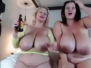 two bbw having fun Pt2