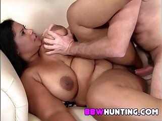 BBW loves cock pleasuring
