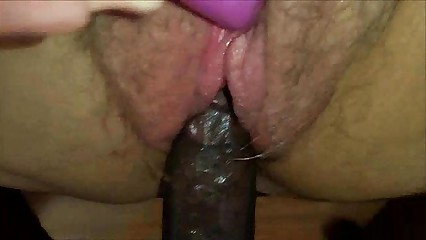 Amateur BBW Closeup Interracial Sex