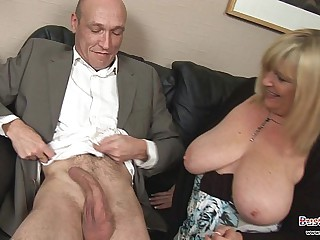 Chauffeur Dreams Of Fucking Big Tits Boss