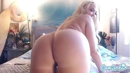 Summer Brielle big tits big ass blonde double vagina penetration.