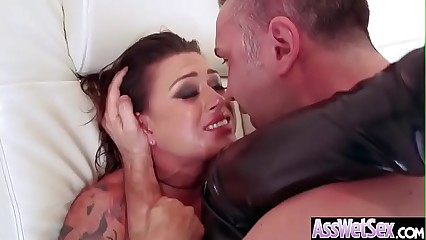 Anal Hardcore Bang With Big Ass Horny Girl (Eva Angelina) video-15