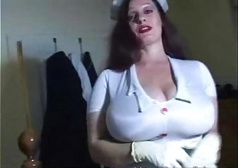 Nurse Big Tits Hand Relief