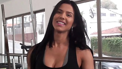 Eva Andressa SEXY Workout