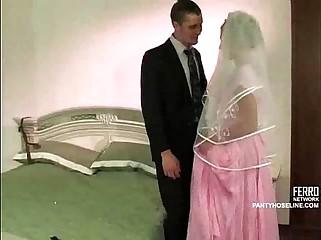 Bondage at the wedding night