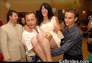Real Slutty Ex Brides!