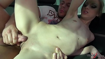 Skinny Czech Amateur Rides His Big Cock Like There Is No Tomorrow