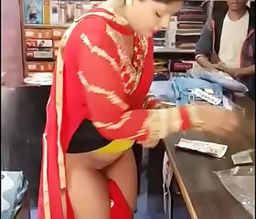 Indian - she proves the shopkeeper wrong