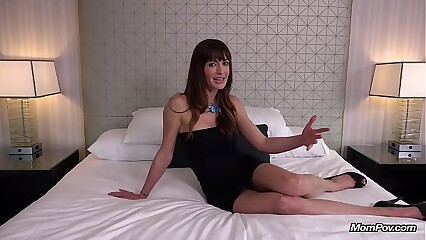 Fit Petite Spaniard MILF Hardcore Ass Fucking MOM POV