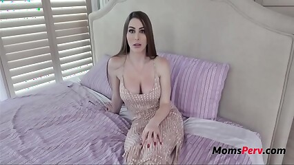 MOM Teaches VIRGIN Teen SON To Fuck- Brianna Rose