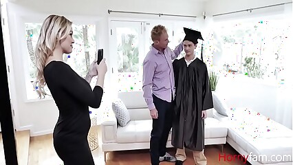 MOM fucks SON for scoring good SAT marks