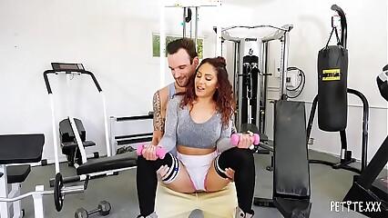 Petite Latina Liv Revamped Gets a Workout