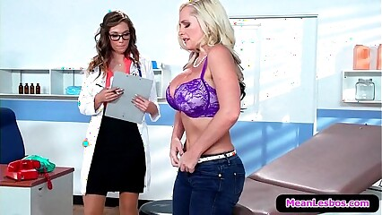 Hot and Mean Lesbians My Lesbian Doctor with Alena Croft & Val Dodds 01