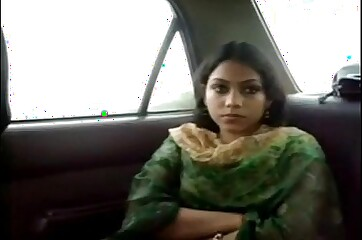 Bengali Beautiful Girl on Cab