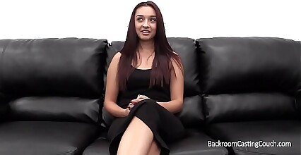 Hot Amateur Angela Assfucked on Casting Couch