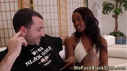 Black goddess has anal