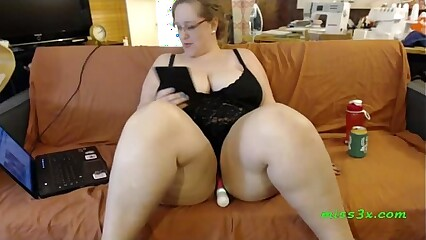 Sitting bbw wait one more orgasm