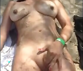 Masturbation At the beach sight