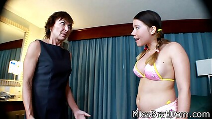 BP033-Big Ass Hanjob and Old Woman Induction Oral Sex - Free Video