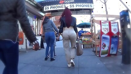 Candid Big Booty Latina Ass