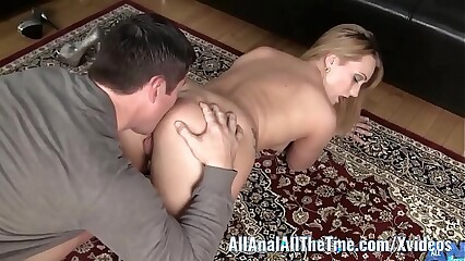 Big Booty Babe AJ Applegate Gets Ass Licked and Worshiped!