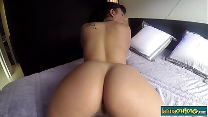 Big ass latina Claudia Bavel