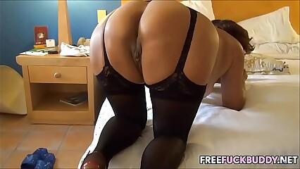 Big Ass MILF In Lingerie Gets Fucked Met Her on Freefuckbuddy.net
